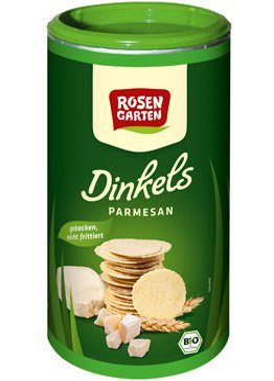 Kräcker Dinkels Parmesan