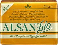 Alsan-Bio Köstliche Bio-Margarine mit Rohstoffen aus kbA