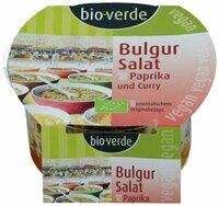 Bulgur-Salat mit Paprika und Curry, vegan