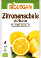 Zitronenschale gerieben, BIO