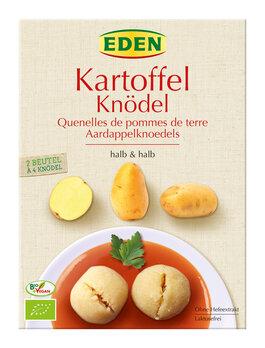 Kartoffelknödel halb & halb