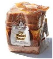 Dinkel-Toast verpackt