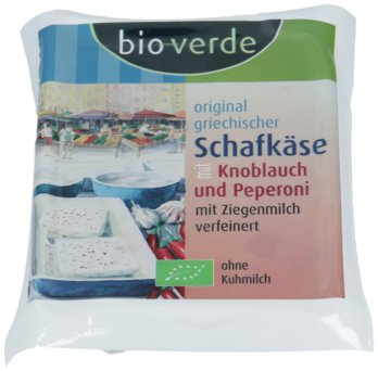 Schafkäse Knoblauch & Peperoni