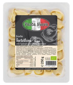 Tortellini Spinat-Pinienkerne