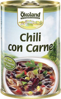 Chili con carne, mexikan. Art