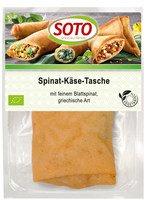 Spinat-Käse-Tasche