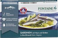 Sardinen Haut &Gräten+Olivenöl