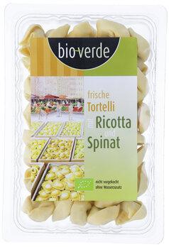 Tortelli mit Ricotta & Spinat