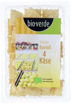 Ravioli mit 4 Sorten Käse