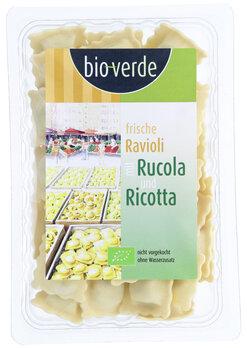 Ravioli mit Rucola & Ricotta