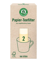 Teefilter Papier Grösse 2