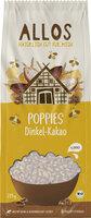 Dinkel-Kakao-Poppies