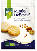 Mandel-Heidesand Dinkel-Buttergebäck